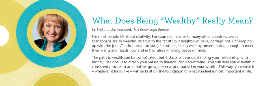 What does being 'wealthy' really mean?
